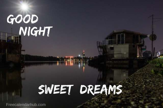 Good Night Images Download Moon