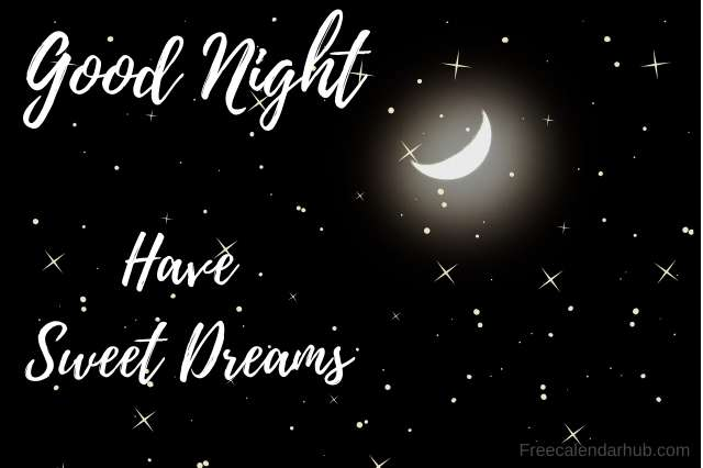 Good Night Sweet Dreams Images Download Free