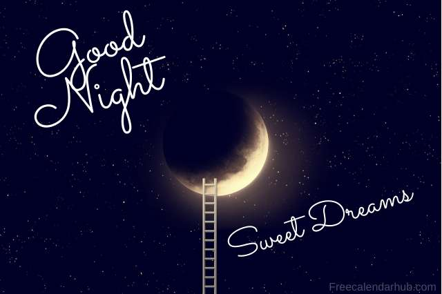 Good Night Sweet Dreams Images Download Moon