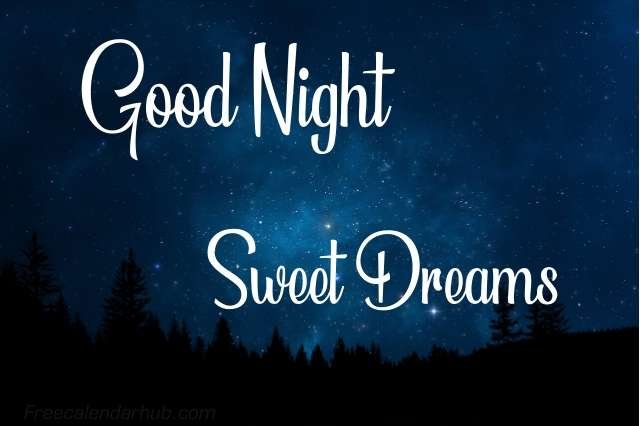Good Night Sweet Dreams Images Download Quotes
