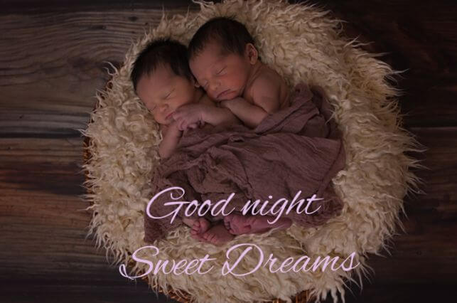 Cute Baby Good Night Images For friends