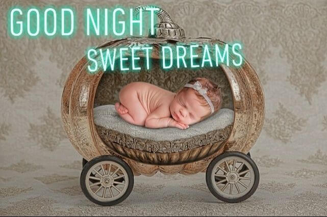 Good Night Baby girl Images