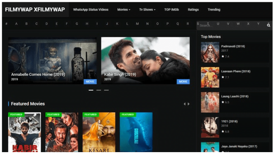 Filmywap 2021 Bollywood Movies Download Live Link