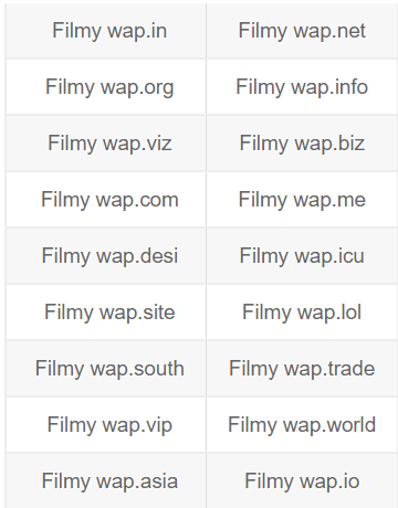 Filmywap 2021 Live Link New Domain